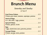 Join Us For Brunch Saturday and Sunday!